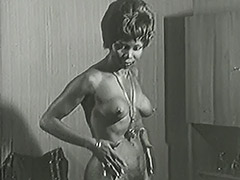 Hot Interracial Newlyweds 1950 porn video