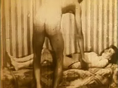 Sexy Maid Stripping for a Raise 1950 porn video