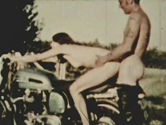 Hitchhiker Bitches get Fucked Hard 1960