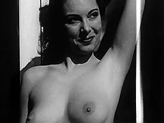 Marvelous Girl Posing and Showing Boobs 1950 porn video