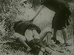 Peeing Girls Fucked by Driver in Nature 1920 porn video