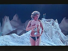 Woman Astronaut Stripteases on the Moon 1960 porn video