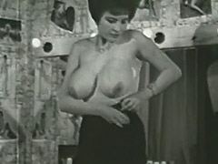 Busty Mature Lady Follows the Undressing Directions 1950 porn video