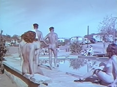 Outdoor Nudists Enjoying Naked Lifestyle 1950 porn video