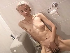 Skinny Girl from Europe Can't get Enough Masturbating Her Hairy Vagina porn video