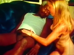 Young Blonde and Big Black Cock of Old Man 1960 porn video