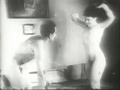 Happy Couple Spending Their Time in Bed 1940 porn video