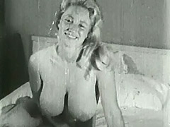 Big Busty Virginia Bell Solo 1950