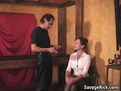 Audreys fetish Audition 1 by SavageRick