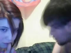 German Couple having fun on webcam
