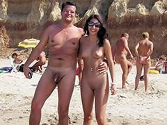 Beach, Aged, Beach, Cougar, Couple, Hidden