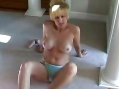 Mom, Aged, Big Tits, Blonde, Blowjob, Boobs
