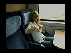 Big Titted MILF Traveling on a speed train hooking up with a big titted milf is not what I expected
