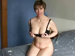 Grandma, Aged, Amateur, Cougar, French, Masturbation