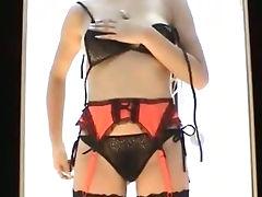 Japanese Spycam Modeling Session lingerie toilet 10