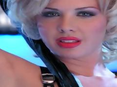 A Great Solo Scene With The Dominatrix Blonde Lani Todd