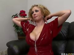 Busty Blonde Slut Katie Kox Does Anything To Be A Star
