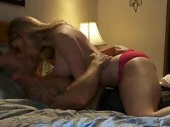 Hot and Horny Wife Waits For Her Hubby To Wake