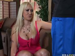 Cock Craving Blonde MILF Alana Evans Gets Fucked Hard and Facialized