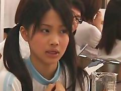 Hot Japanese Teens Go Through a Perverted Medical Check porn video