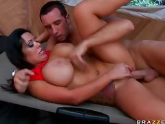 Busty Latina MILF Sienna West Gets Fucked and Facialized In a Tent