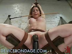 Naughty Teen Withstands A Wild BDSM Session
