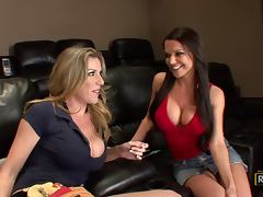 Lesbian Sex With The Blonde And Brunette Kayla And Rebecca