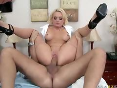 All, Big Tits, Blonde, Drilled, Facial, Hospital
