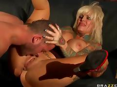 Janine Lindemulder tattooed fuck slut porn video