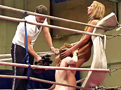 Wrestling, Blonde, Catfight, Fetish, HD, Wrestling