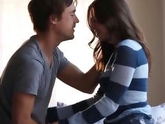 Son, Babe, Blowjob, Brunette, Doggystyle, Erotic