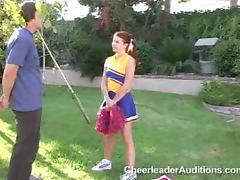 Cheerleader, Cheerleader, Cumshot, Doggystyle, Flexible, Lick