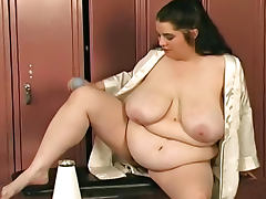 BBW bitch is a pain slut