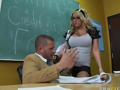 Naughty School Girl Heather Summers Fucking The Teacher's Big Dick