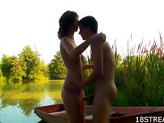 Irenka And Karol Have Sex After A Boat Ride