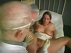 Big Breasted Blonde Babe Sucks Cock and Gets Fucked at the Doctor