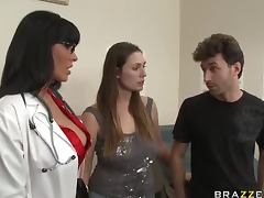 Doctor Veronica Rayne Titty Fucking a Big Cock In Hardcore