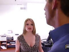 Tatiana Kush gets pounded by the tax collector