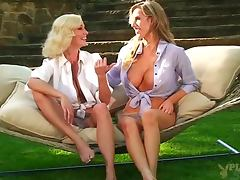 Two Stunning Housewives Keylee and Paige Talk About Fucking