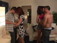 Swinger Fun With the Hot Babes Stephanie Richards and Shayne Ryder