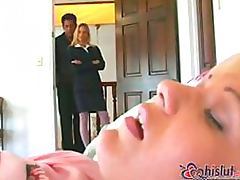 Lustful Anal Slut Candi Apple and Her Man Fuck Their Horny Babysitter