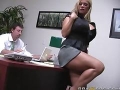 Insanely Busty Blonde Shyla Stylez Gets Anally Pounded By Her Co worker porn video