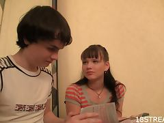 Nastiest Amateur Teen Sex With Kveta and Ladislav