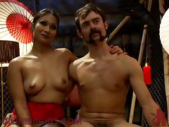Asian Babe Makes A Great Femdom Scene