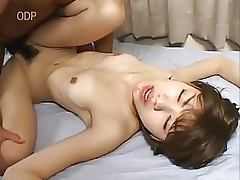 Super Hairy Japanese Teens Get Fucked and Covered In Thick Jizz
