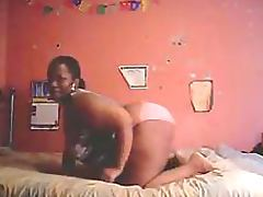Ebony BBW Shaking Her Big Booty