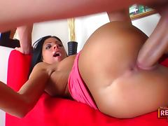 Eva Ellington Gets A Great Facial After A Fun Fuck