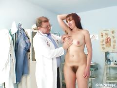 Hairy Mature, Cunt, Doctor, Exam, Mature, Sex