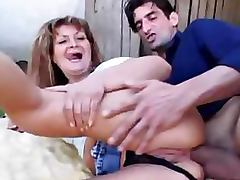 Aged, Aged, Anal, Creampie, Old, Outdoor