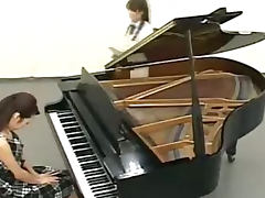 Piano Lesson Given To Young Student Then She Is Fucked By Teacher